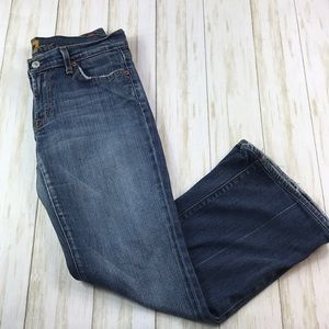 "7 For All Mankind Flare Jeans 25"" Inseam"